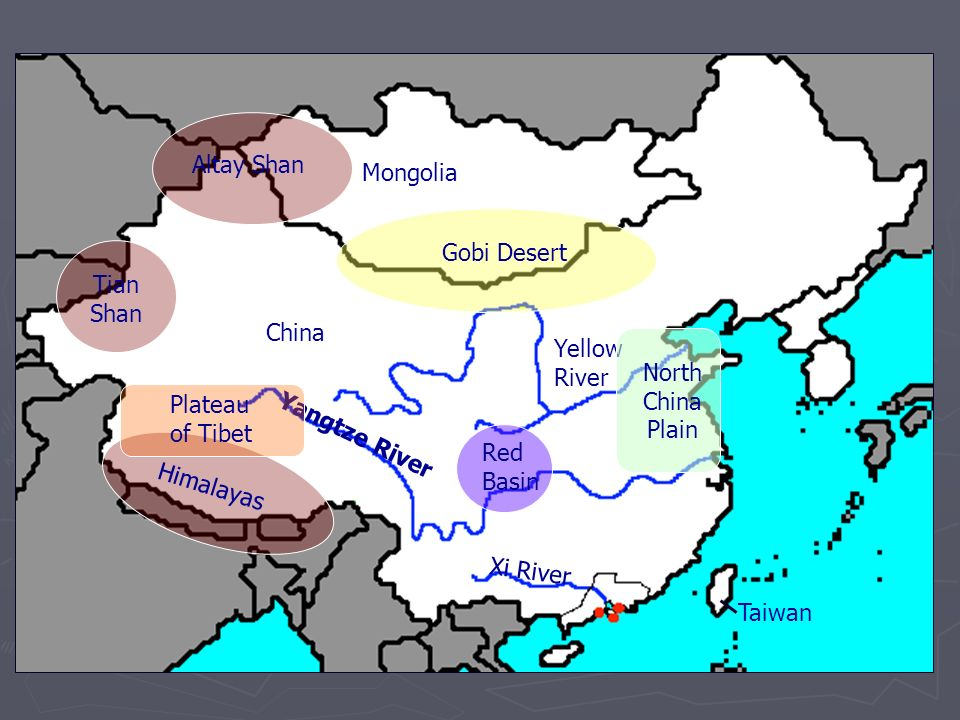 Xi River China Map.China Ppt Video Online Download