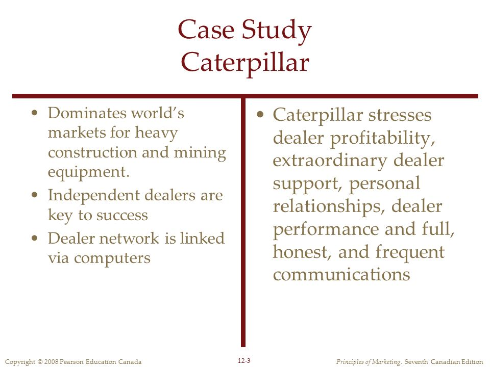 Case Study Caterpillar