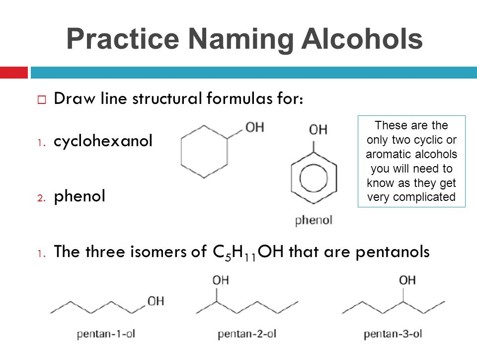 Unit A Organic Chemistry Ppt Download. Practice Naming Alcohols. Worksheet. Naming Alcohols Worksheet At Mspartners.co