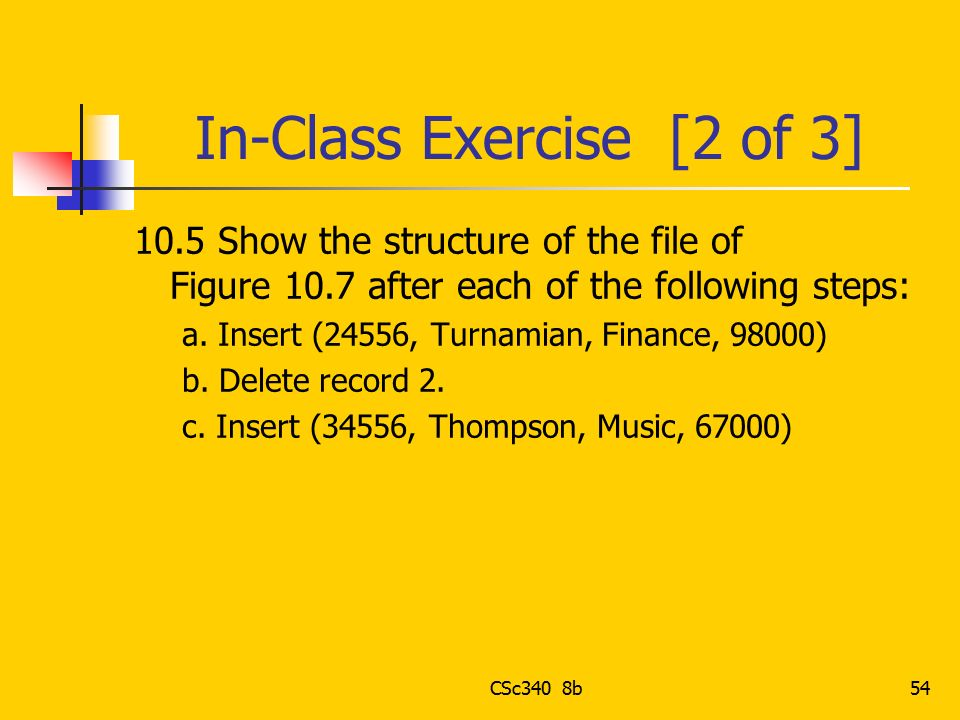 In-Class Exercise [2 of 3]