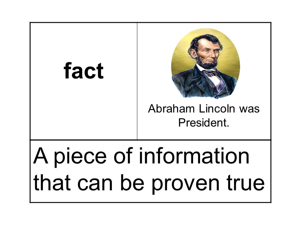 Abraham Lincoln was President.
