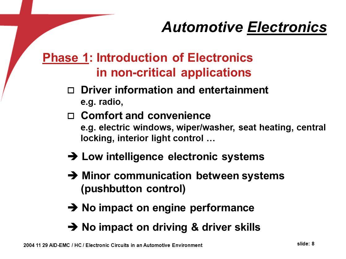 Automotive Environment Herman Casier Ami Semiconductor Belgium Ppt Lock Circuit Work O Electronic Circuits Help Electronics Forum
