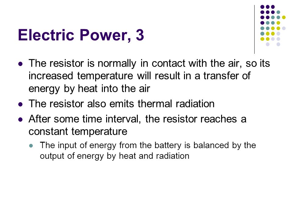 Electric Power, 3