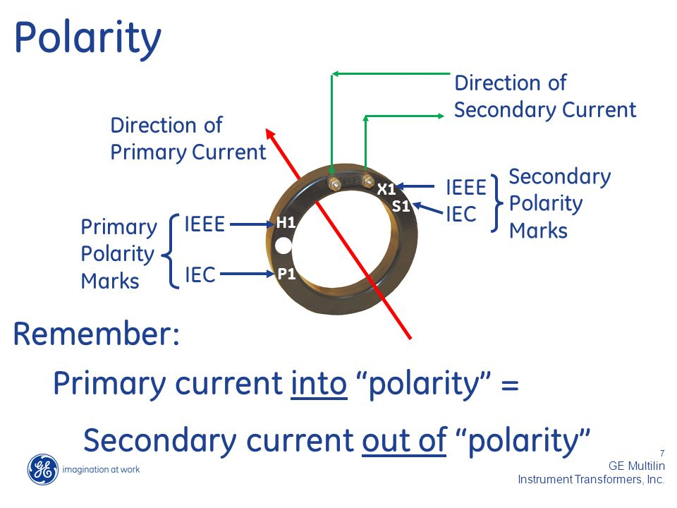 Are you using the right CT's and PT's for your application - ppt