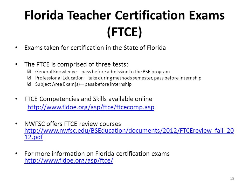 Northwest Florida State College Bachelor of Science in Education ...
