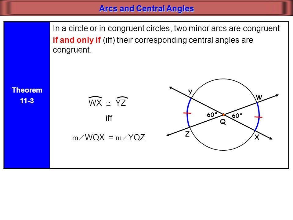 Circles 11 1 Parts Of A Circle 11 2 Arcs And Central Angles