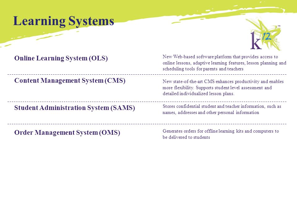 K12 Inc  Overview  - ppt video online download