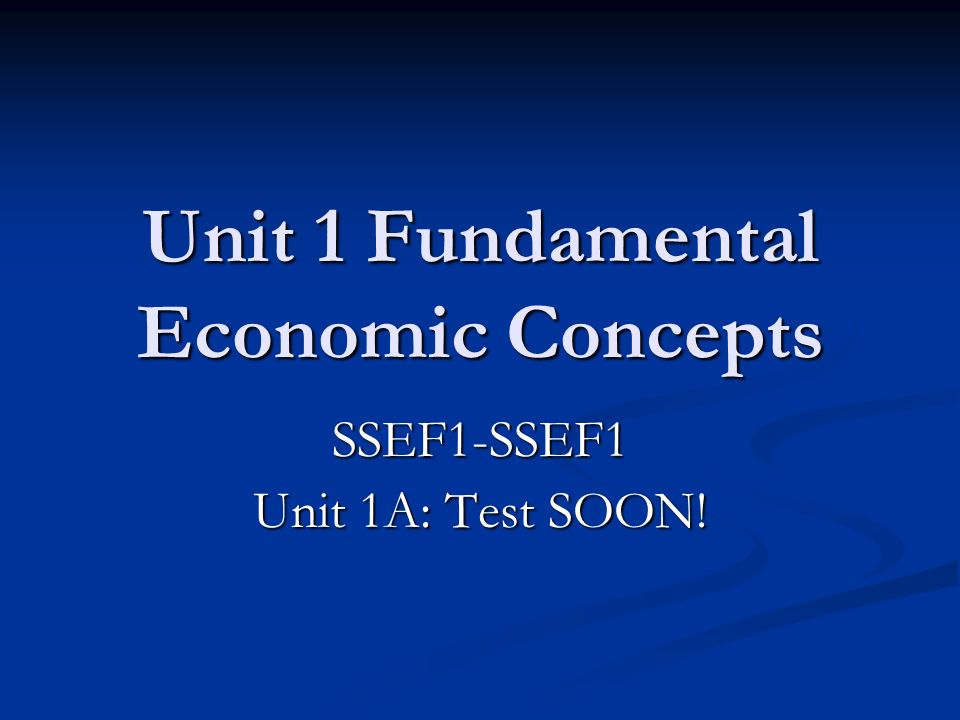 unit 1 basic economic concepts Unit 1 basic economic concepts choices resources & wants resources=supply wants=demand macroeconomics factors of production intro to economics unlimited wants limited resources time money raw materials choose between wants decisions scarcity shows choices numerically what you.