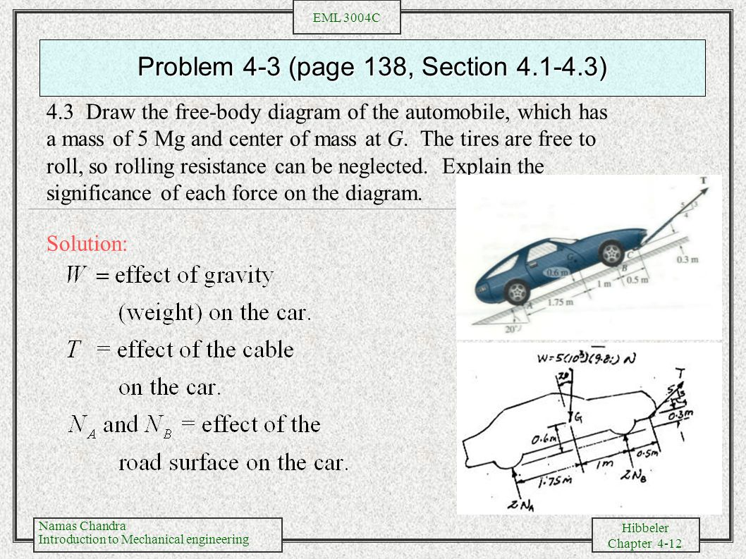 Problem 4-3 (page 138, Section )