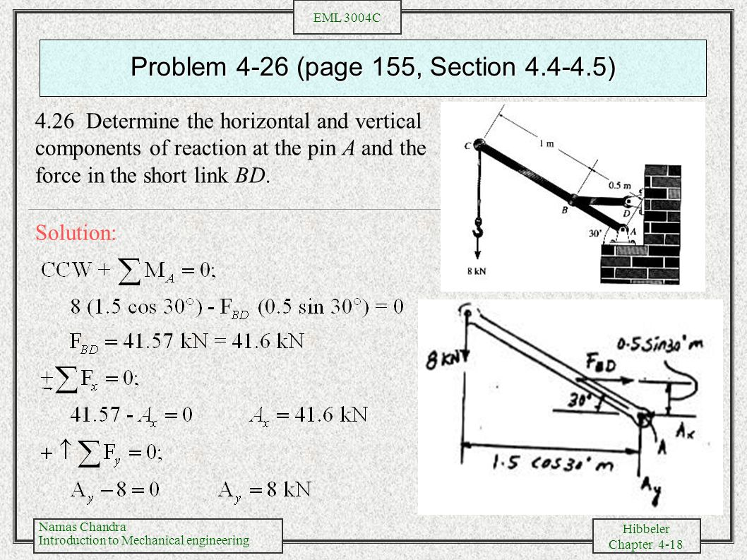 Problem 4-26 (page 155, Section )