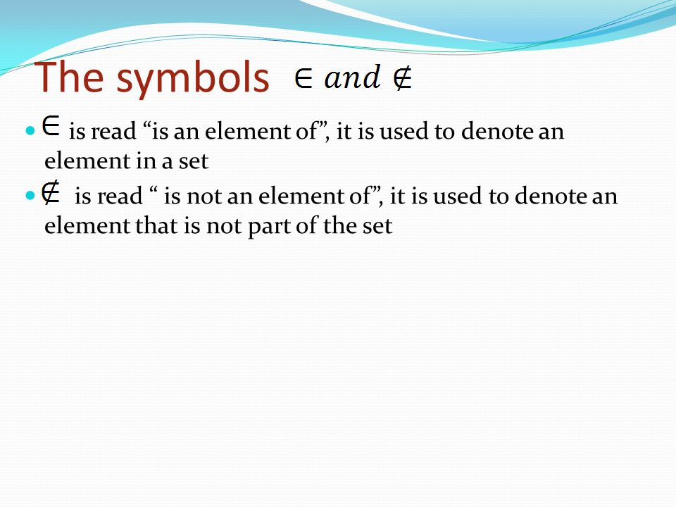 Sets And Expressions Number Sets Ppt Video Online Download