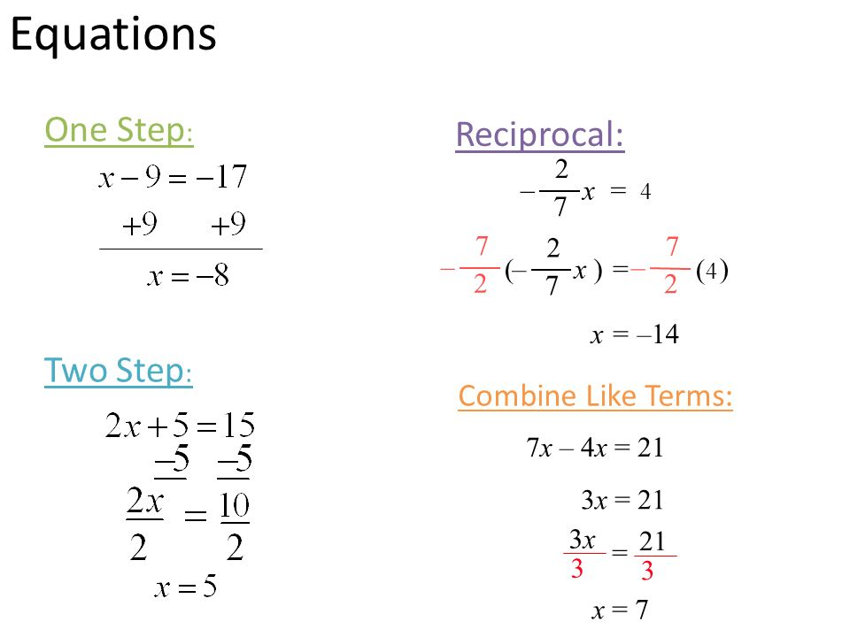 Combining Like Terms Equations Worksheet - Checks Worksheet