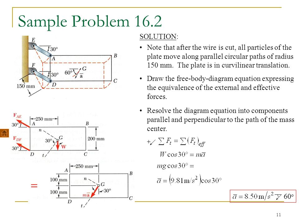 Free body diagram practice problems and solutions search for plane motion of rigid bodies forces and accelerations ppt video rh slideplayer com free body diagram practice problems and answers free body diagram ccuart Choice Image