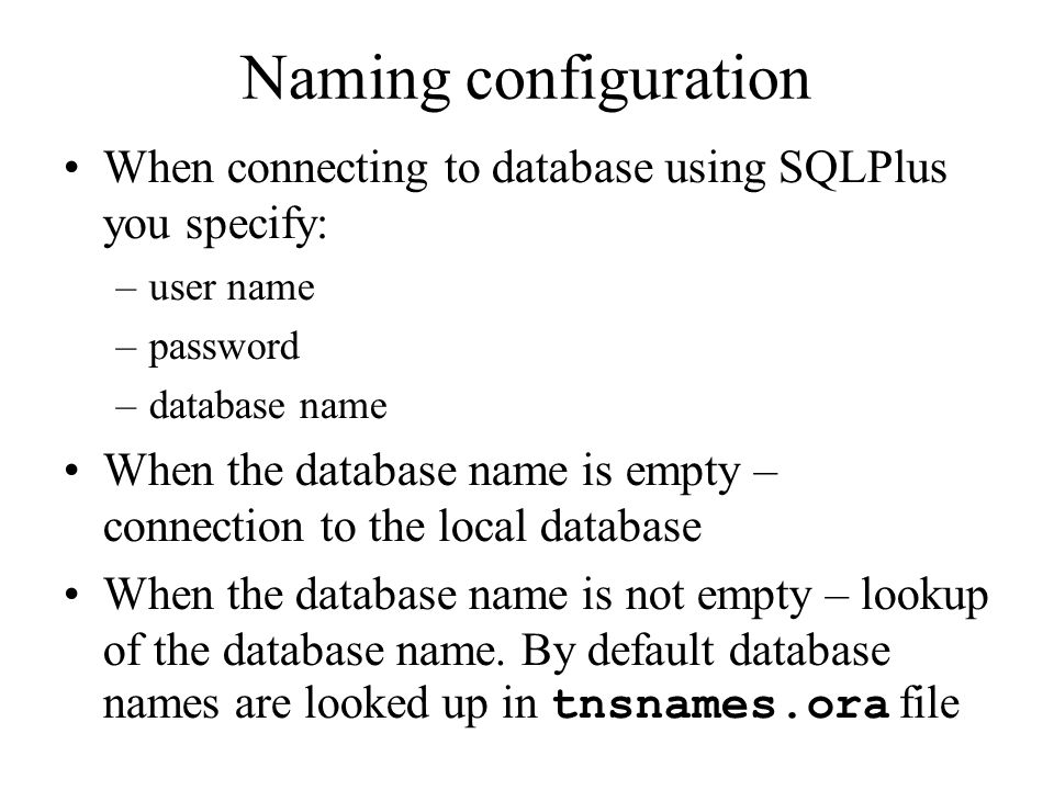 Oracle Database Administration - ppt video online download