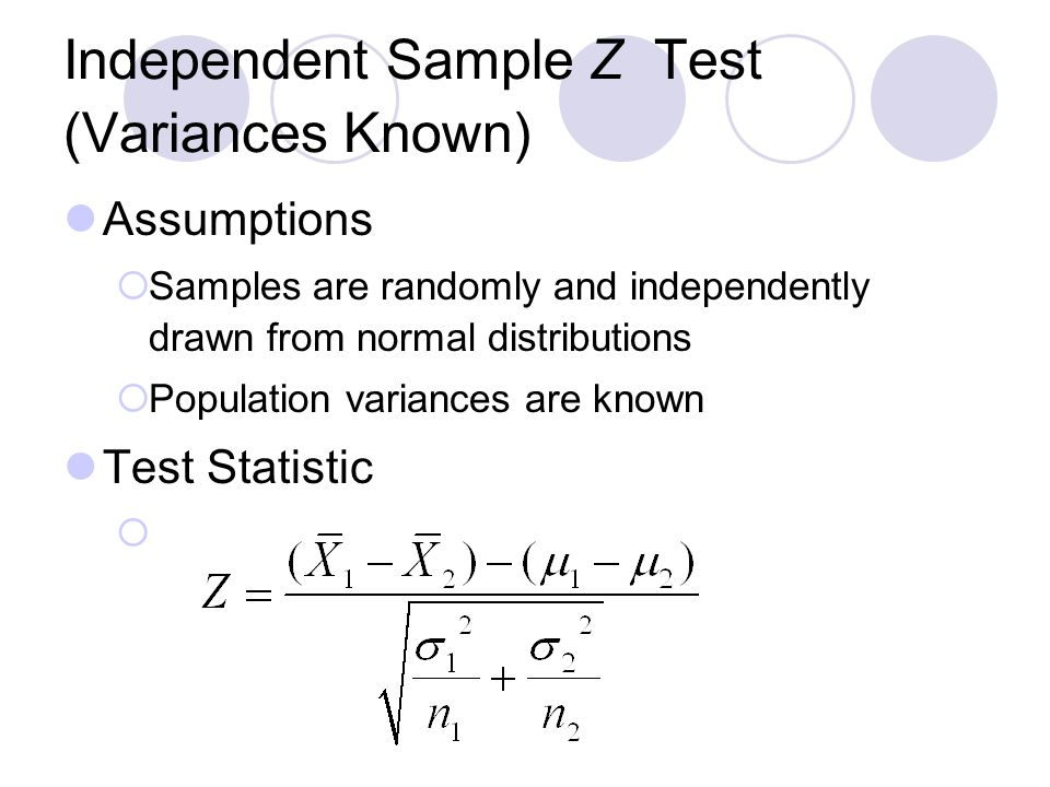 Lecture 7 hypothesis testing two sample.