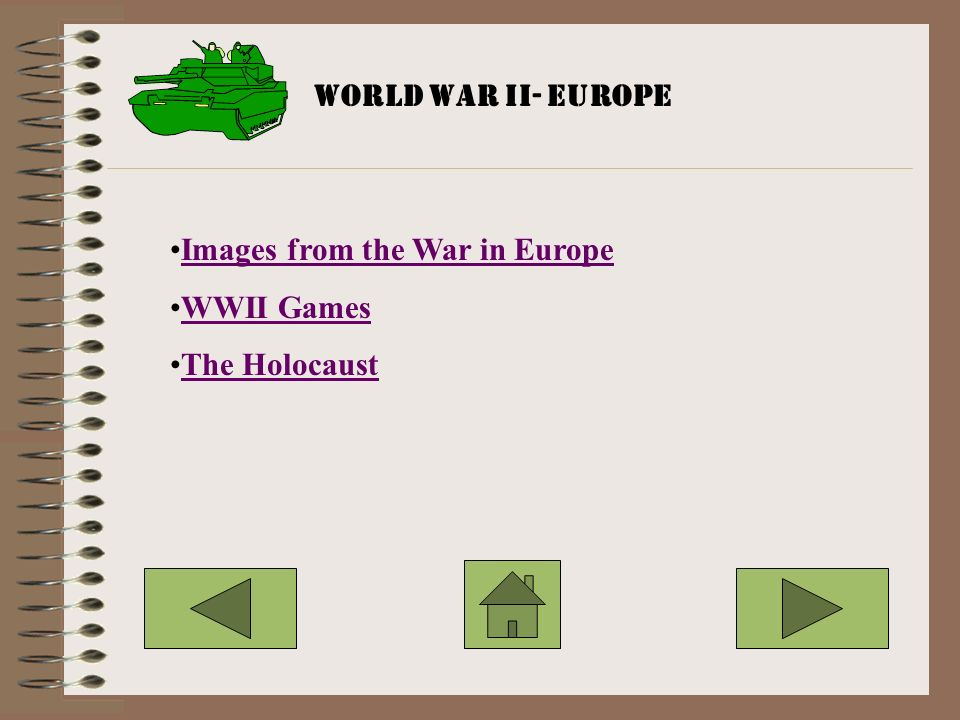 Images from the War in Europe WWII Games The Holocaust