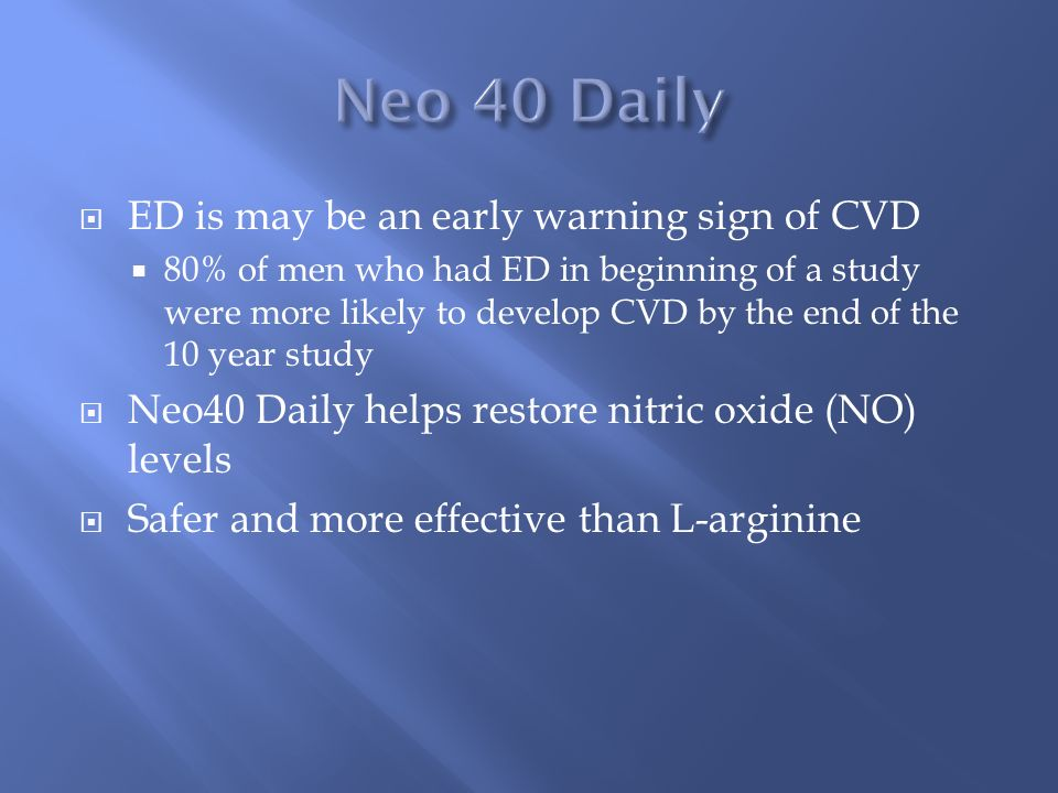 Treatment of Erectile Dysfunction - ppt video online download