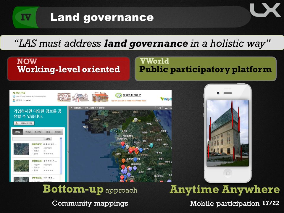Working-level oriented Public participatory platform