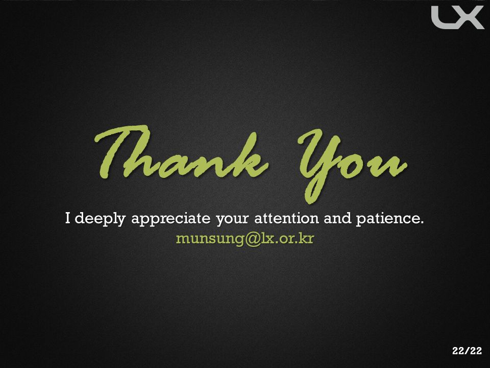 I deeply appreciate your attention and patience.