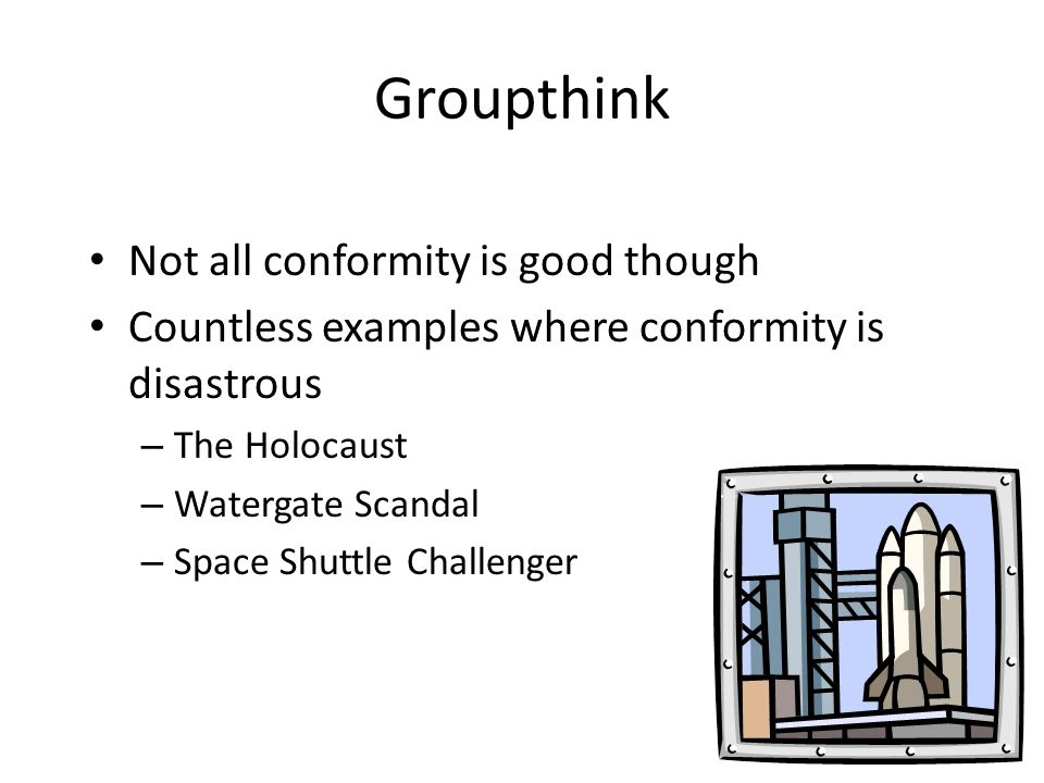 how are groupthink conformity and obedience similar How are the words conformity and obedience related conformity and obedience similar meaning words mutual synonyms sentence examples.