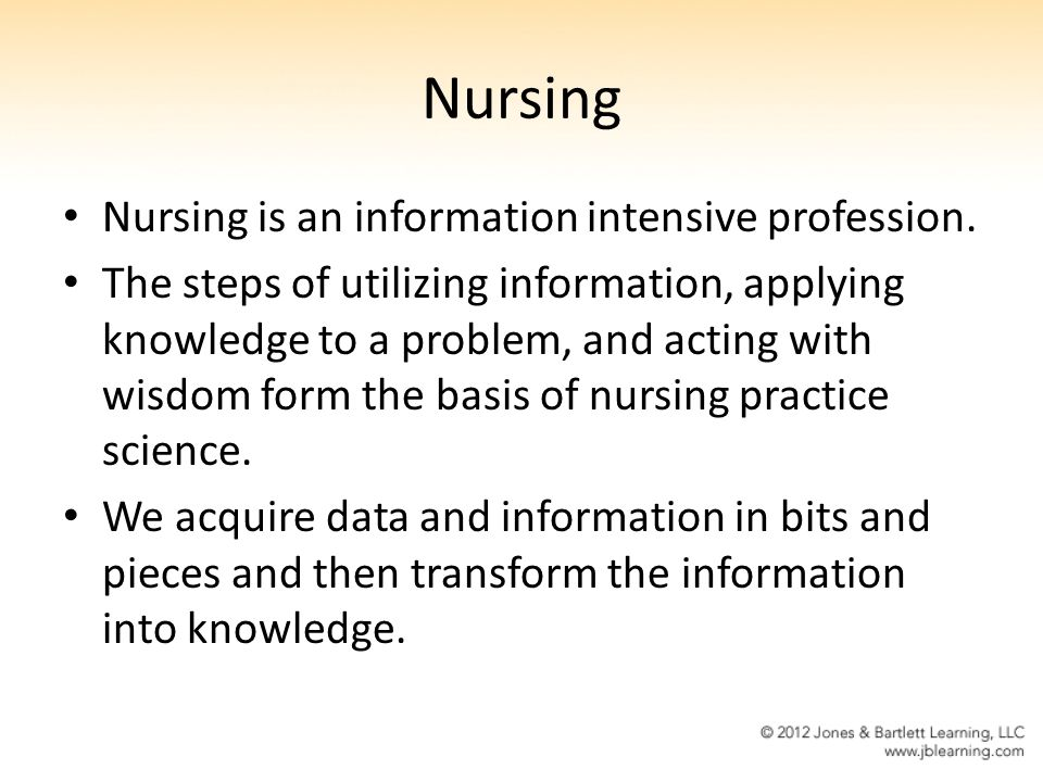 relationship between nursing science and the profession