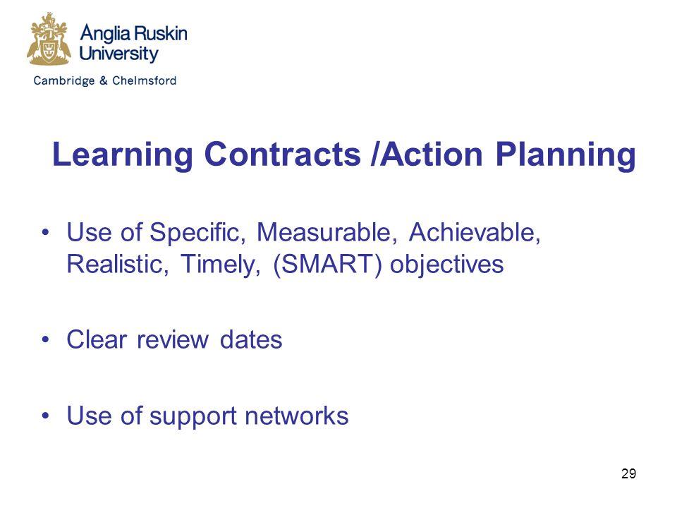 learning contract nursing mentorship