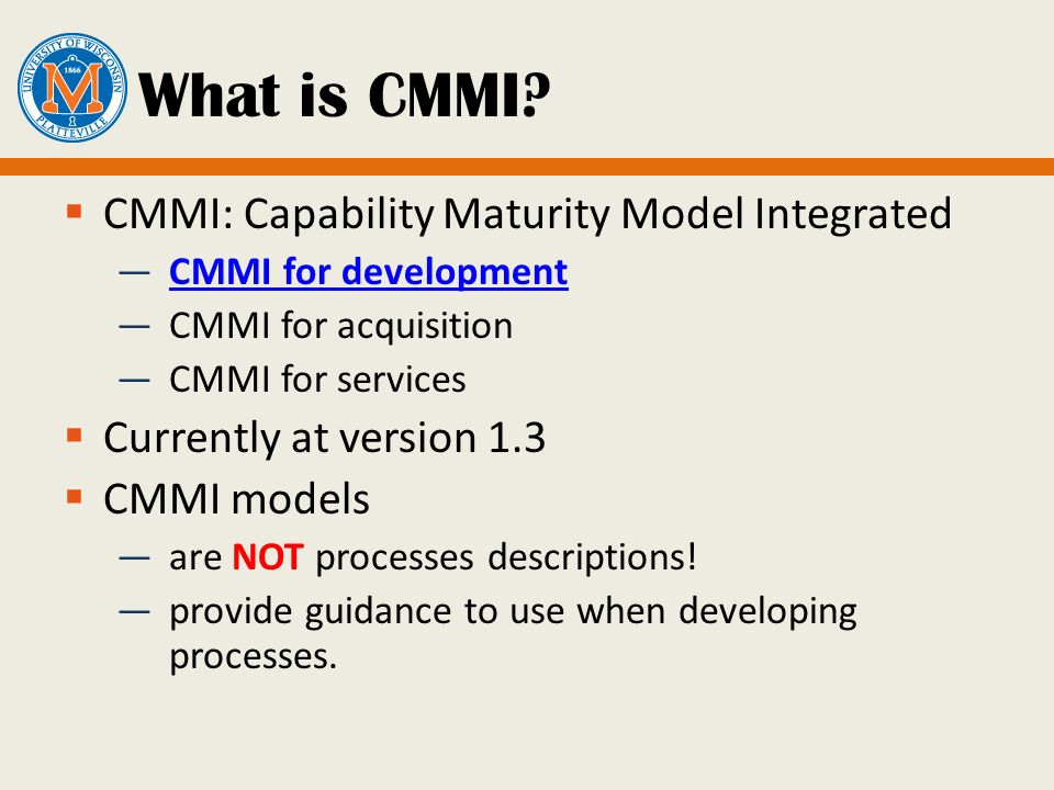 8 Cmmi Standards And Certifications Ppt Video Online Download