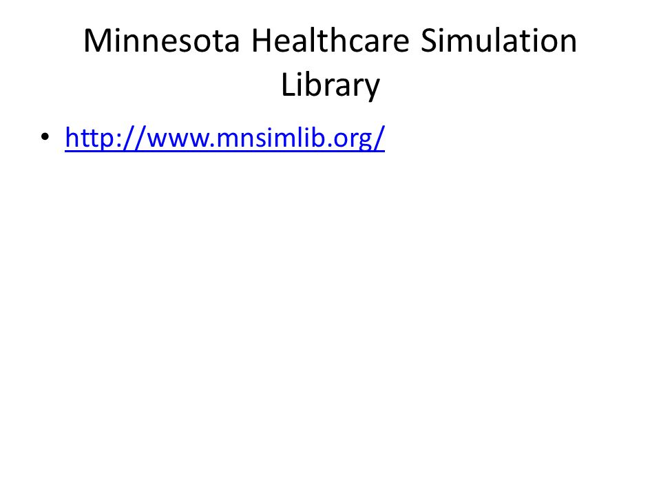 Why Simulation Offers patient care experiences to the novice