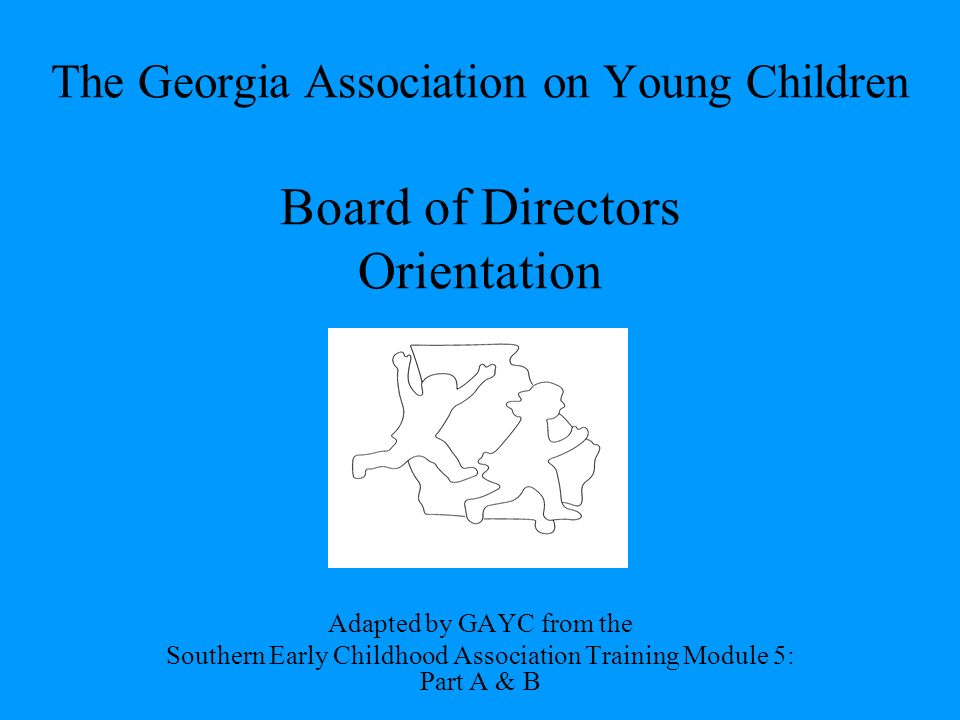 The Georgia Association On Young Children Board Of Directors