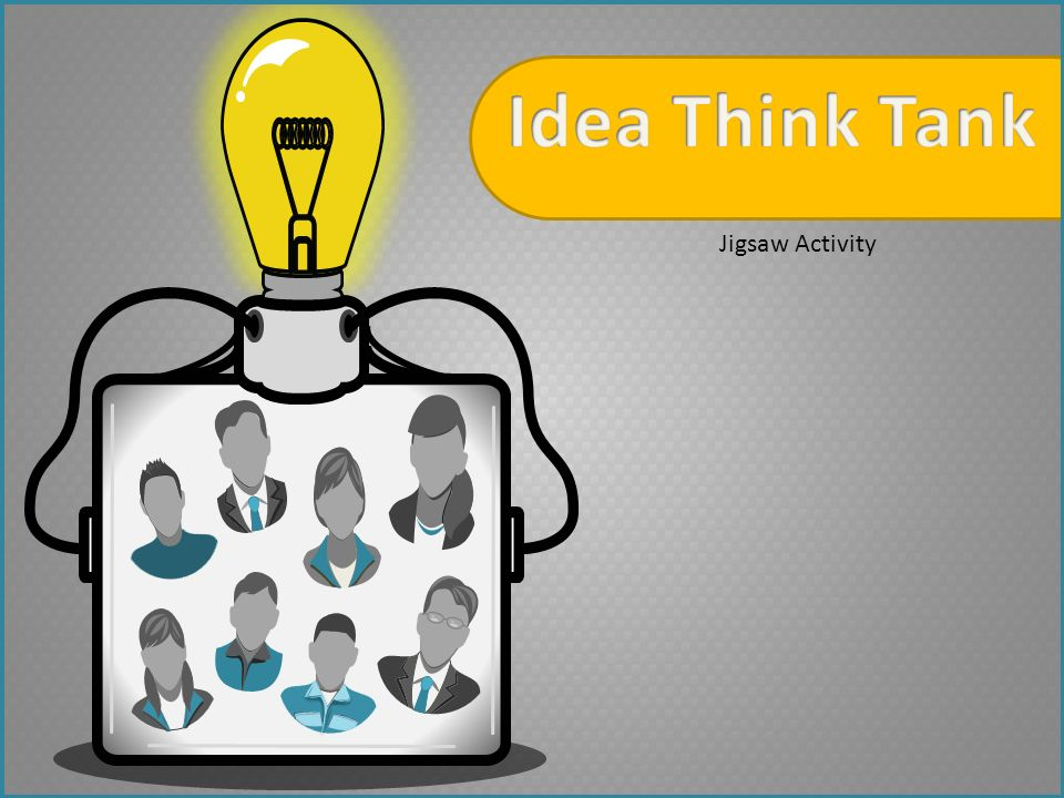 Idea Think Tank Jigsaw Activity