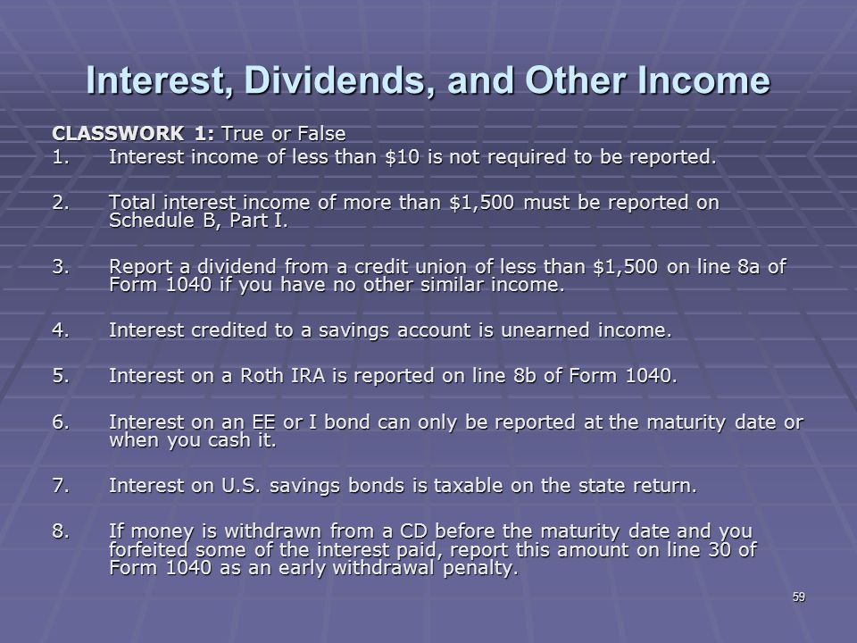 Liberty Tax Service Online Basic Income Tax Course Lesson 5 Ppt