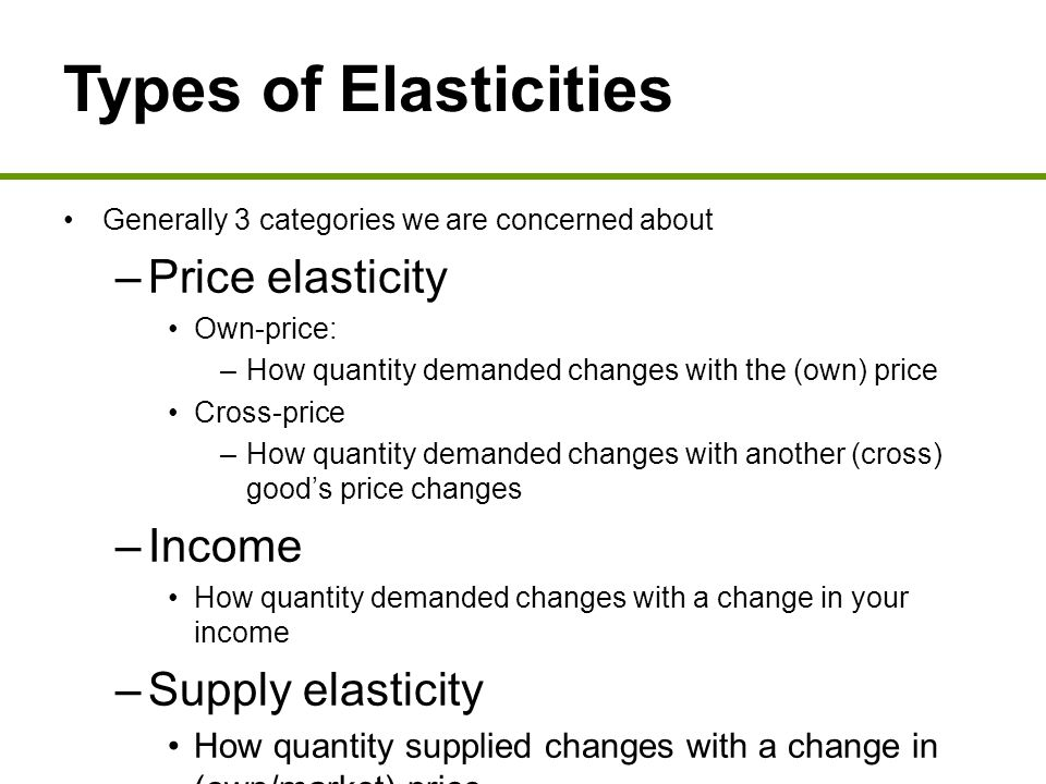 5 Elasticity Ppt Download