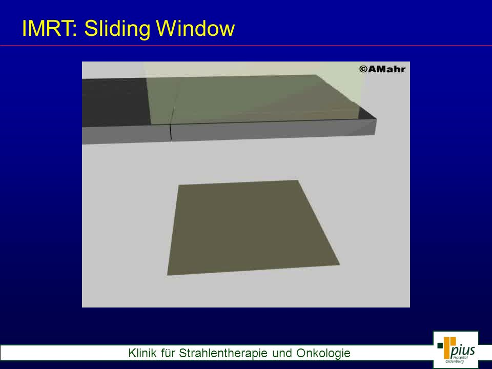 IMRT: Sliding Window