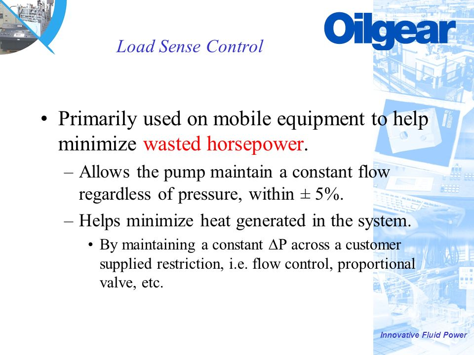 Oilgear Pump Controls PVWJ, PVG, and PVV  - ppt download