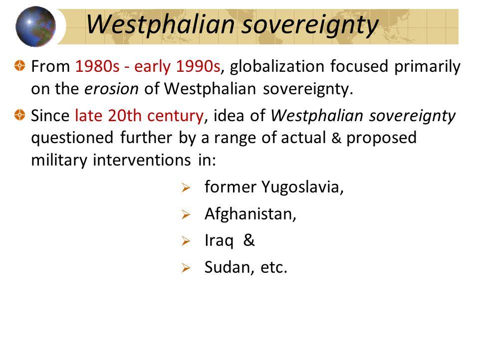 globalization sovereignty