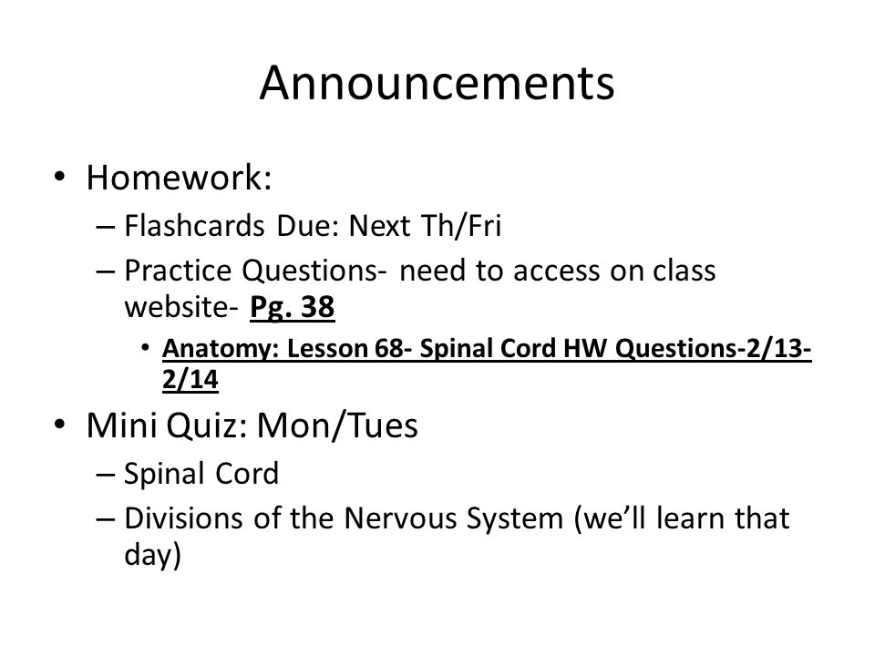 Get Ready for Test Corrections Read BELOW: - ppt download