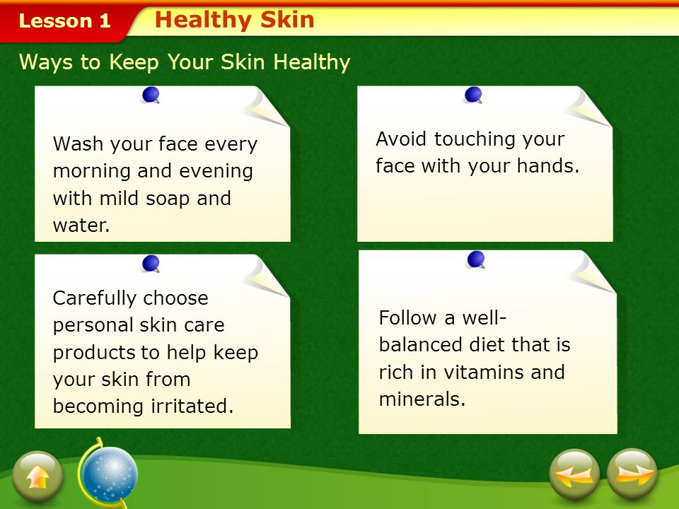Healthy Skin, Hair, and Nails - ppt download