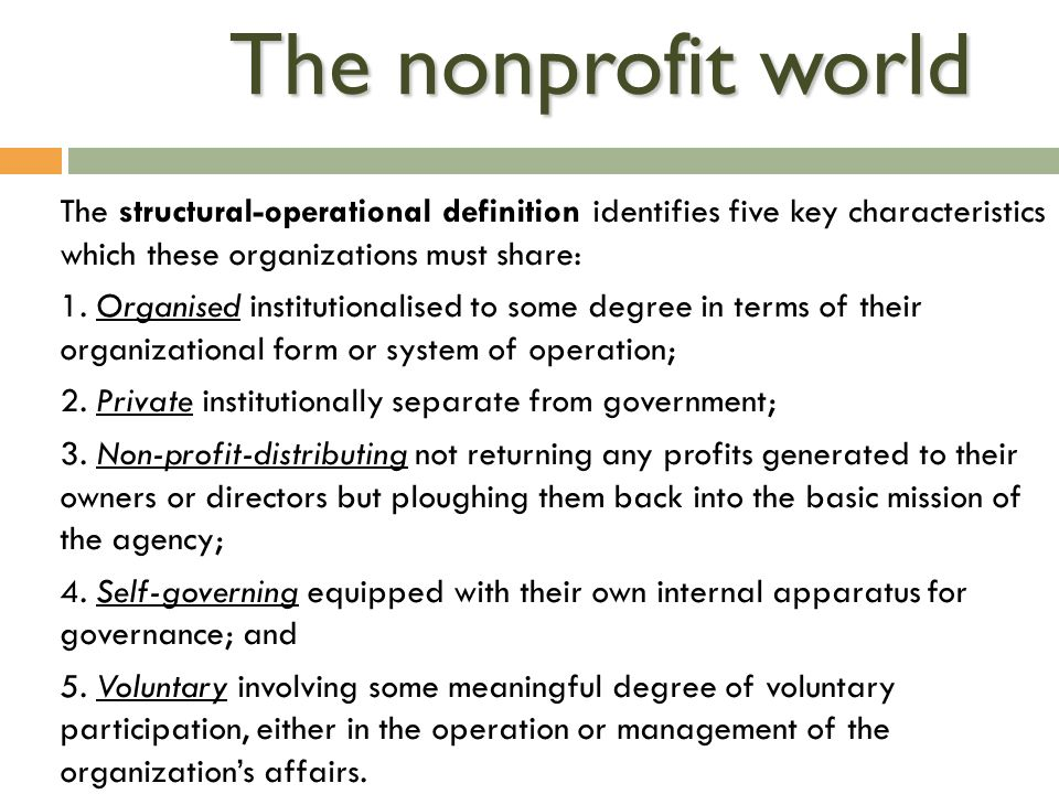 history of nonprofit organizations essay A research showed that out of 229 nonprofit organizations based on charities (like red cross), it was seen that higher nonprofit organizations which worked in accordance with modern business practices, technology and business strategies were able to generate higher results.