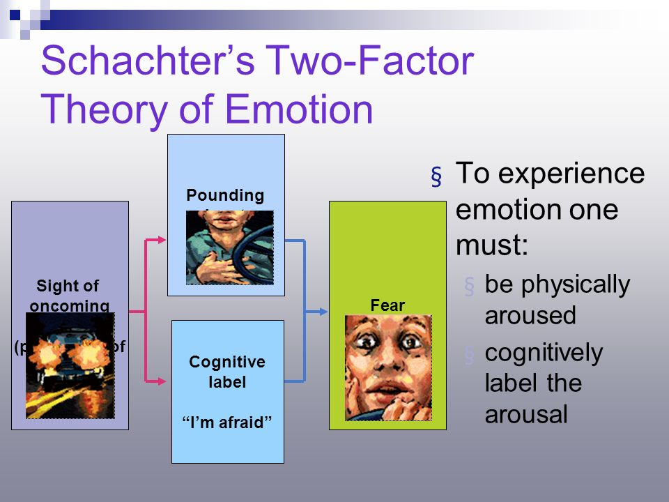 two factor theory of emotion