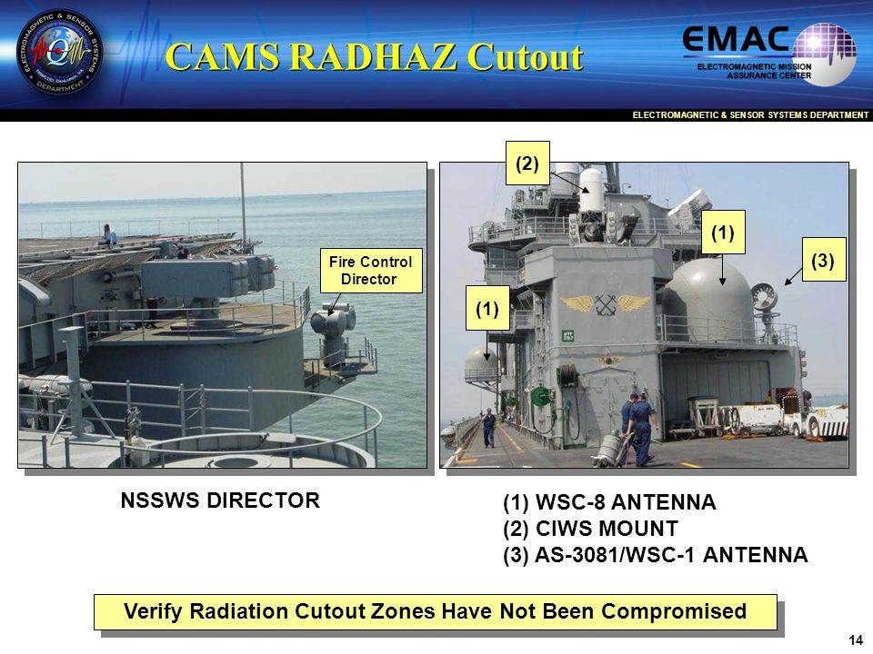 Verify Radiation Cutout Zones Have Not Been Compromised