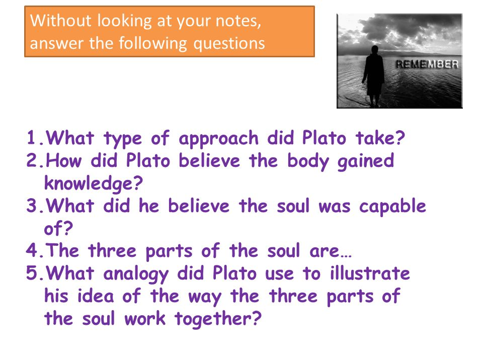 plato divided the soul into three parts