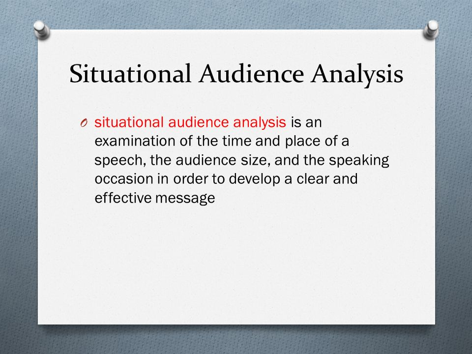 an analysis of the audience is everything In this lesson, you'll learn what an audience in writing is and see how knowing your audience can make your writing clearer and more interesting.