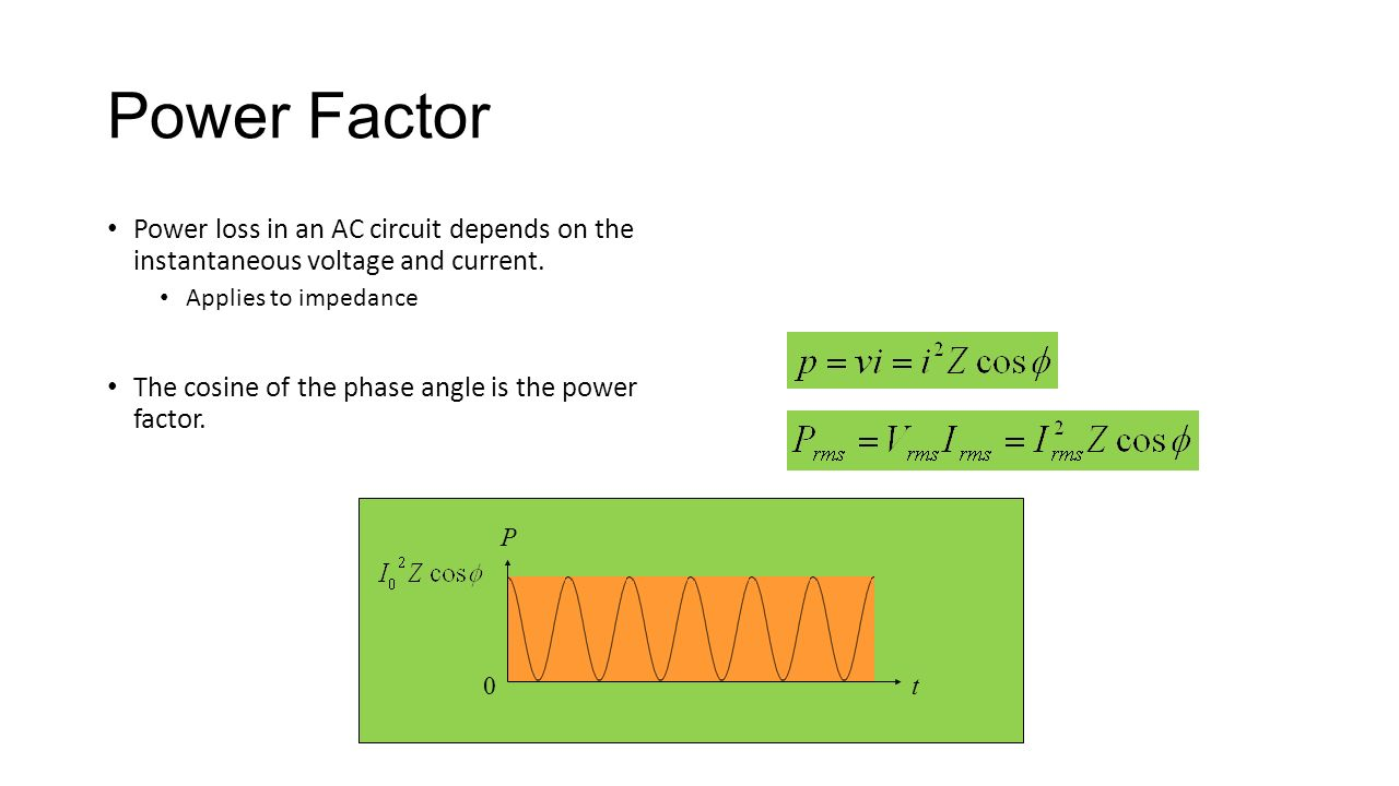 Rlc Circuits Ppt Video Online Download Ac Circuit Inductance And Capacitance Lcr In Series Power Factor Loss An Depends On The Instantaneous Voltage Current