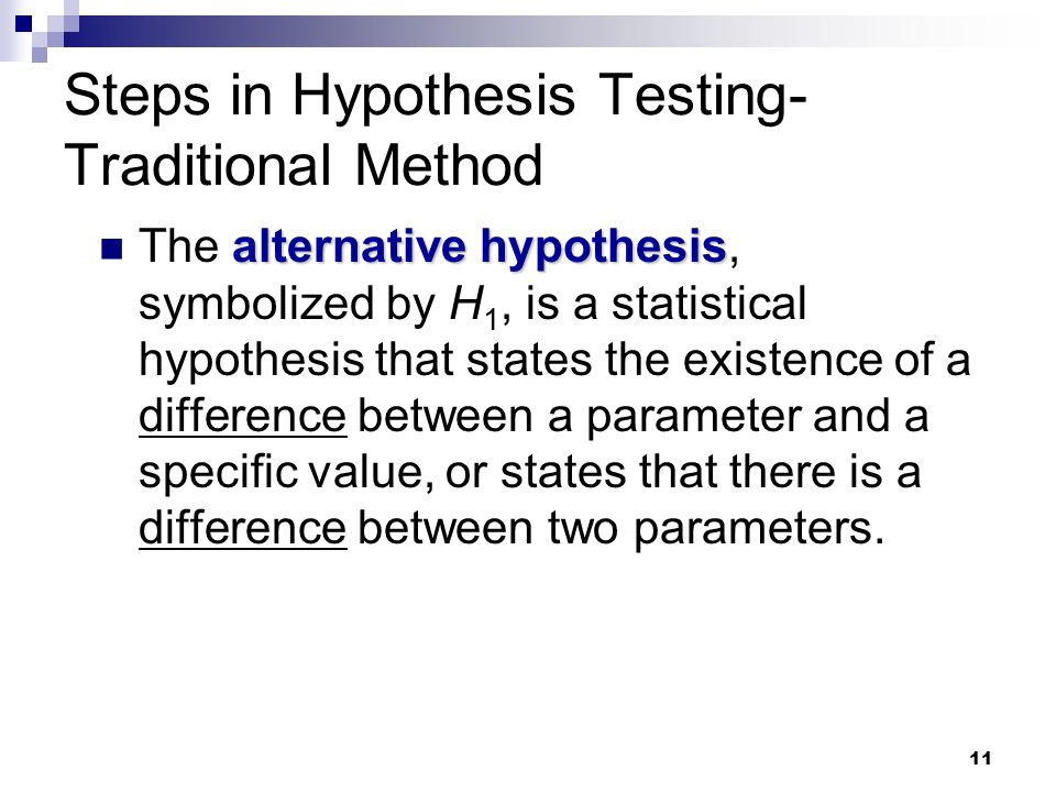 steps in hypothesis testing pdf