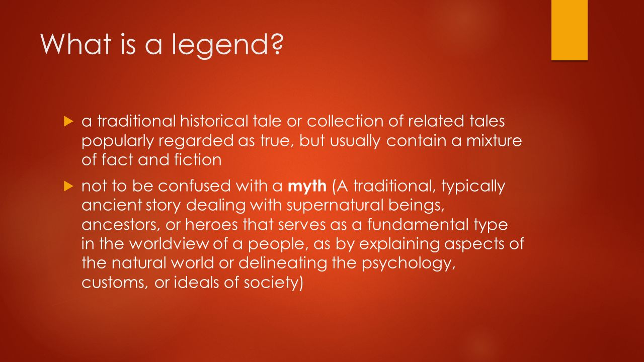 What is a legend 73