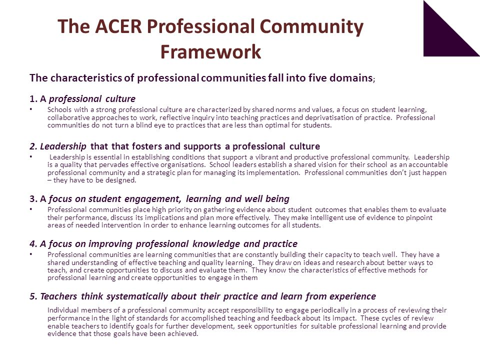 How Strong is Your School as a Professional Community? - ppt
