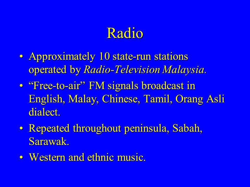 radio television malaysia