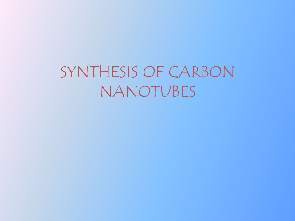 A Seminar On Nanotechnology In Construction Amp Carbon Nano