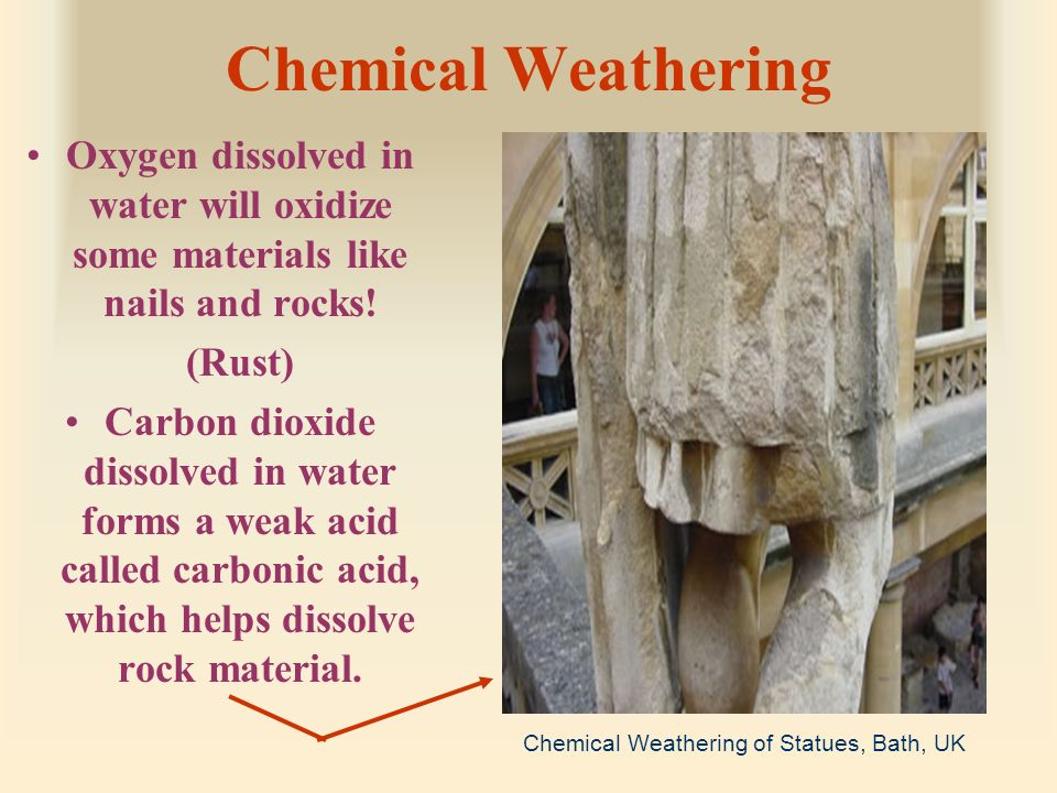What Material Is The Result Of Granite Weathering Nature
