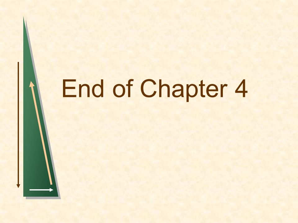 End of Chapter 4 1